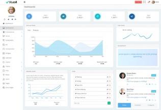 VueJS – Premium Responsive Laravel Admin HTML5 Template
