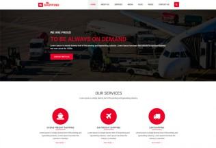 W-Shipping – Prewmium Responsive Cargo, Logistics HTML5 Template