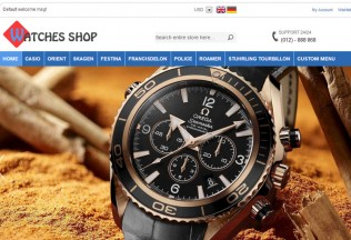 Watches Shop – Premium Full Responsive Magento Theme