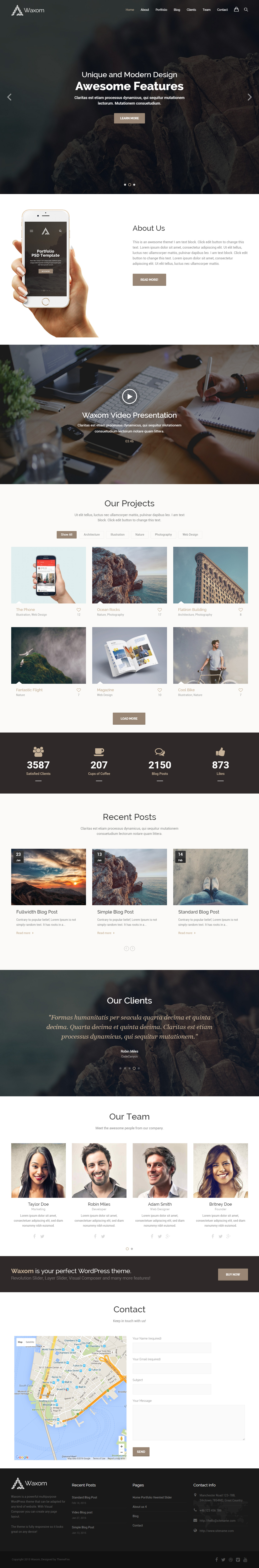 40 Best Wordpress Bootstrap 3 Themes 2017 - Responsive Miracle