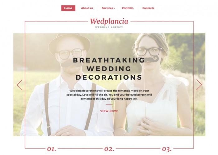 Wedplancia – Premium Responsive Wedding HTML5 Template