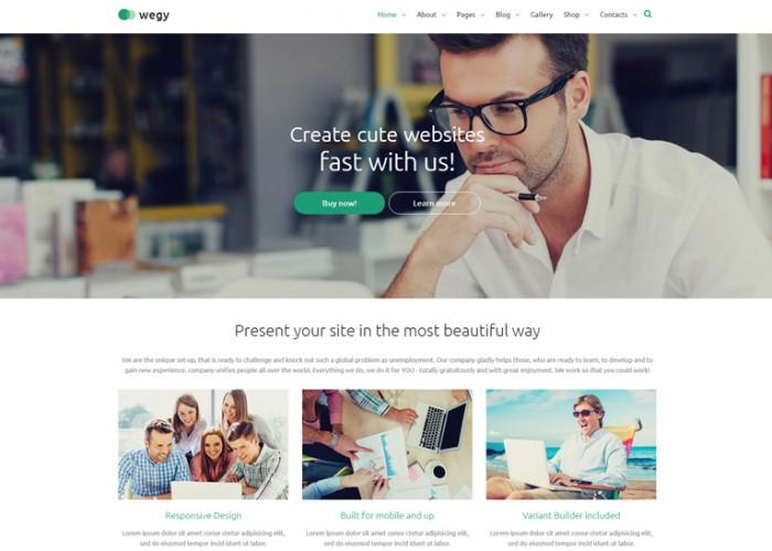 Wegy – Premium Responsive Multipurpose Joomla Template