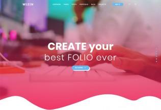 Wezen – Premium Responsive Creative Portfolio WordPress Theme