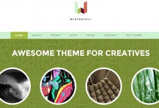 Winterfell – Premium Responsive Blog & Portfolio WordPress Theme