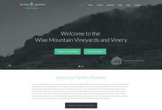 Wise Mountain – Premium Responsive Vineyard and Winery WordPress Theme