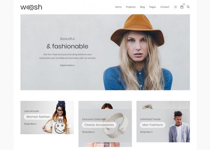 Wosh – Premium Responsive Drupal 8 Commerce Theme
