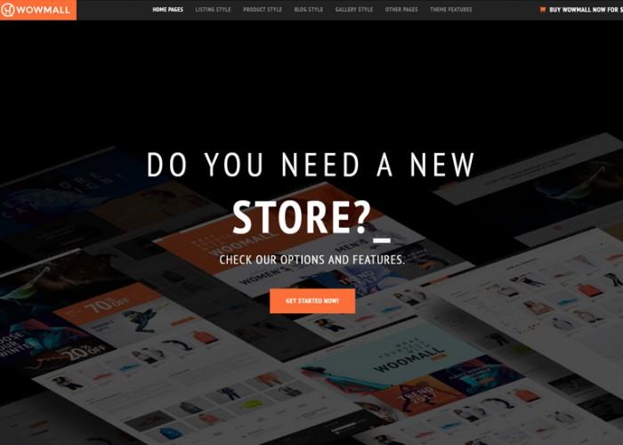 WOWmall – Premium Responsive Fastest WordPress WooCommerce Theme