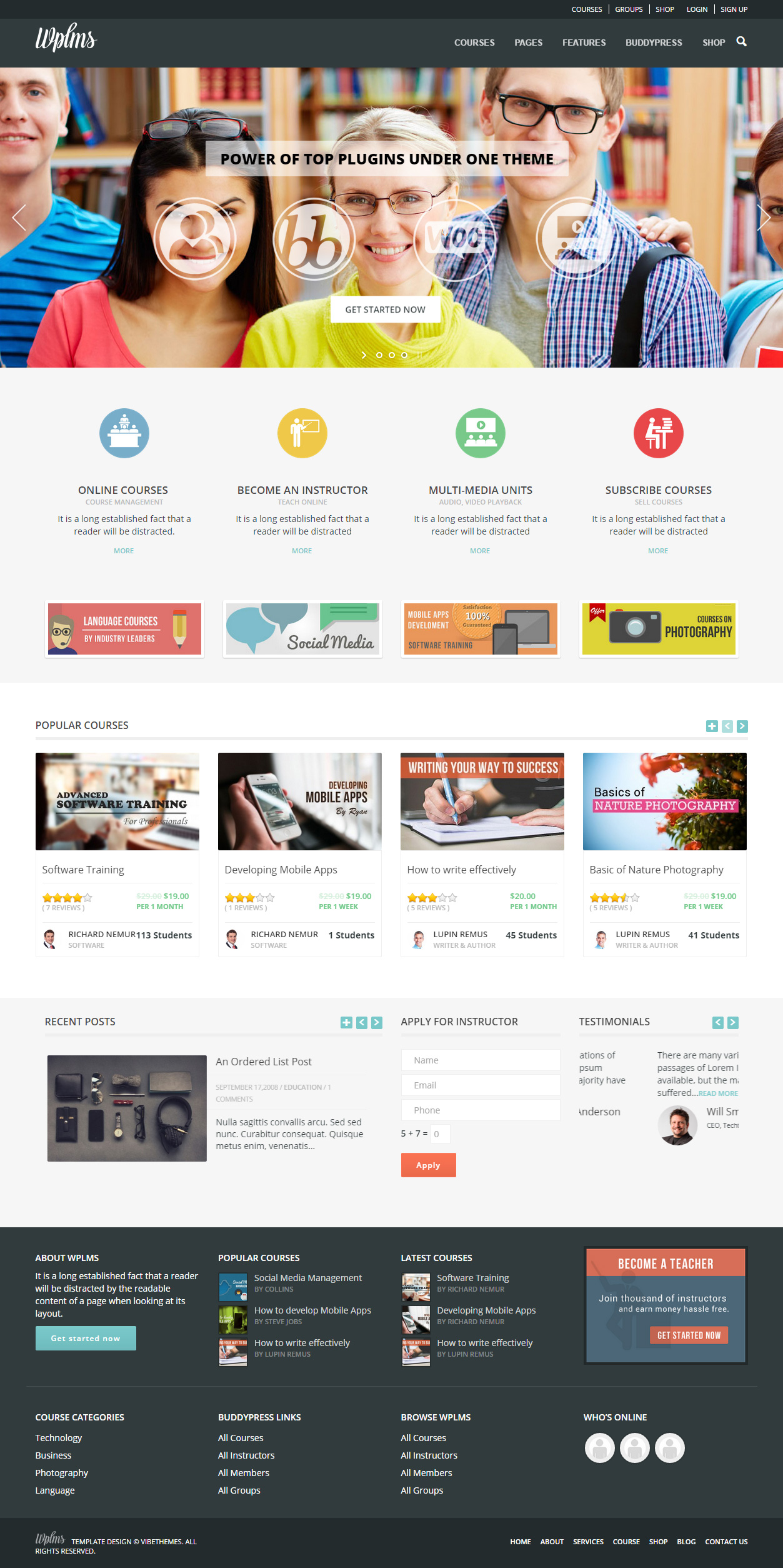 5+ Best Wordpress Learning Management System Theme 2016 ...