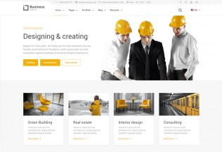 Yellow Business – Premium Responsive Construction HTML5 Template