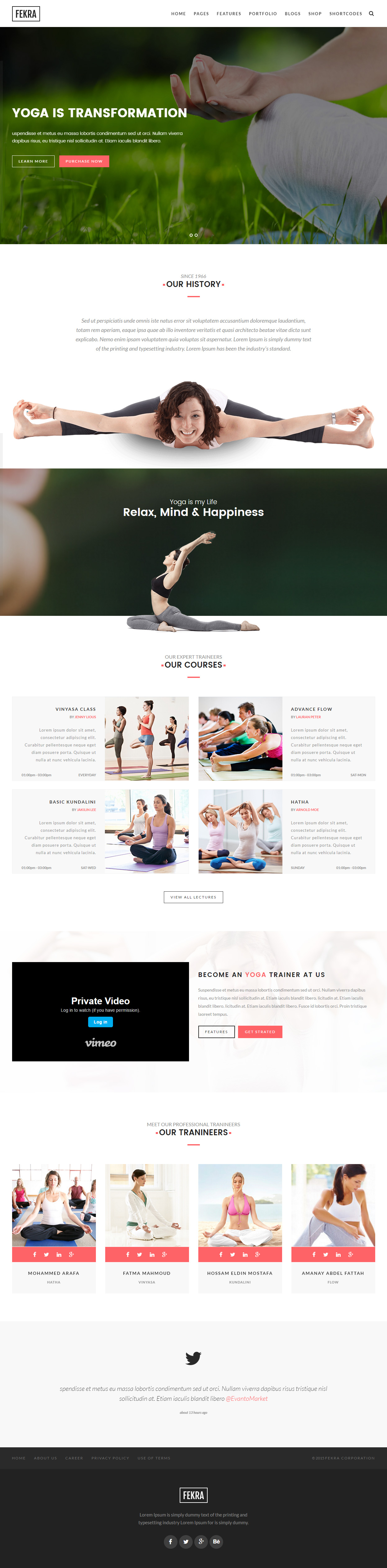 Best Responsive HTML5 Yoga Website Templates 2017 - Responsive Miracle