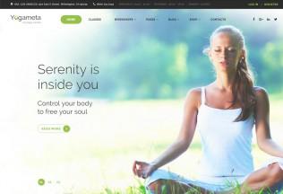 Yogameta – Premium Responsive Yoga HTML5 Template