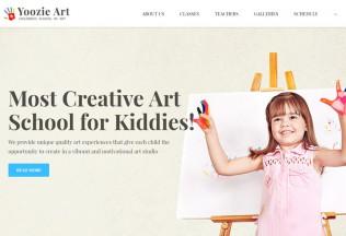Yoozie – Premium Responsive Children Art School WordPress Theme