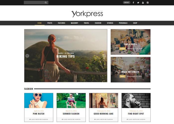 Yorkpress – Premium Responsive Creative WordPress Blog Theme