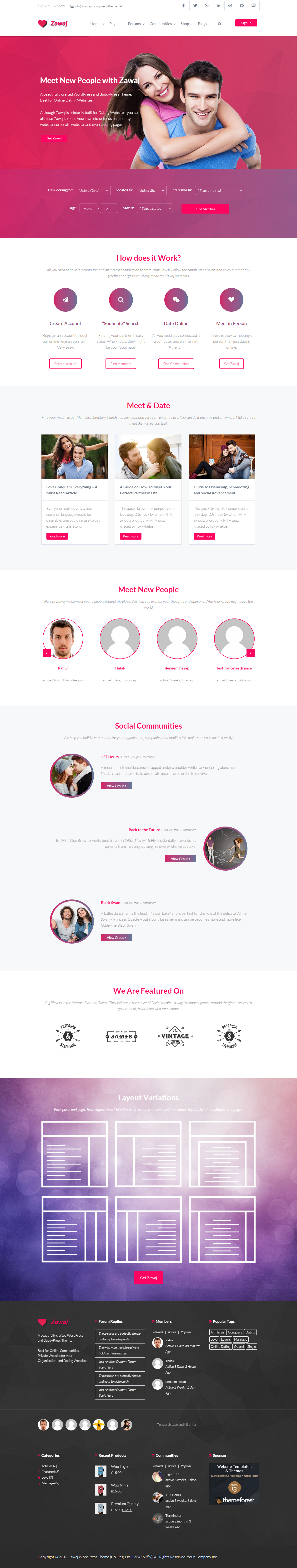 Music State BuddyPress WP Theme 55