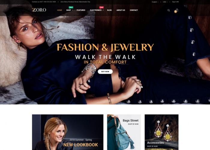 Zoro – Premium Responsive PrestaShop 1.7 Shopping Theme