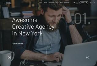 103k – Premium Responsive Multipurpose WordPress Theme