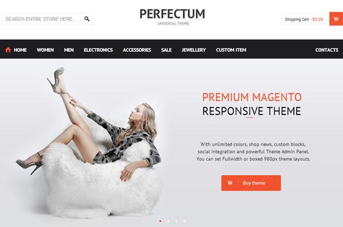 Perfectum – Premium Full Responsive Magento Theme