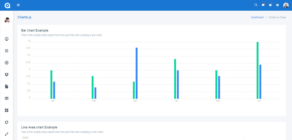 AdminPro - Premium Responsive Angular 7 Dashboard HTML5 Template