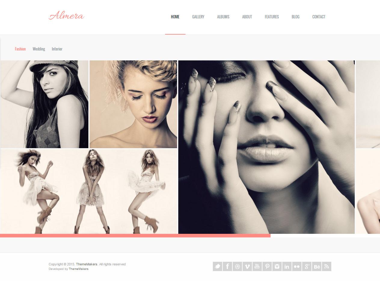 Almera Premium Responsive Modern Agency Portfolio Wordpress Theme Responsive Miracle