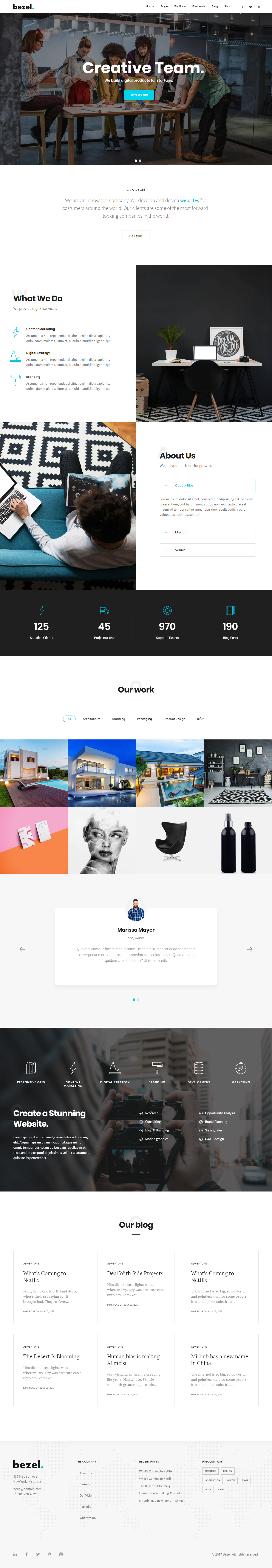 drupal themes responsive parallax