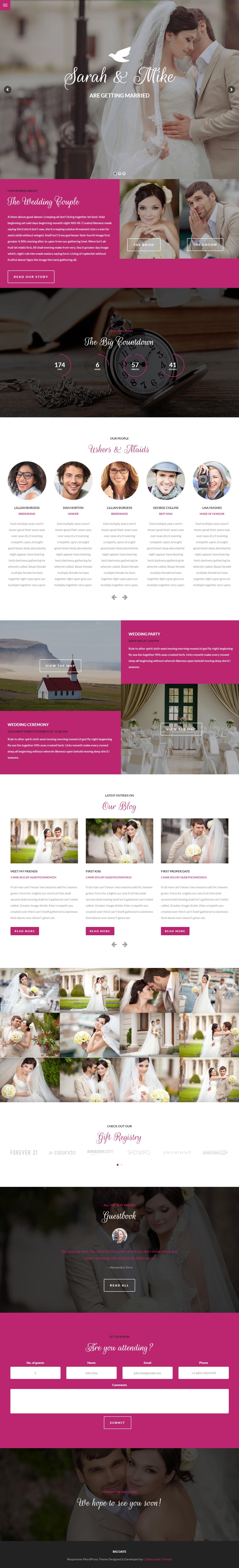 Wordpress matchmaking theme