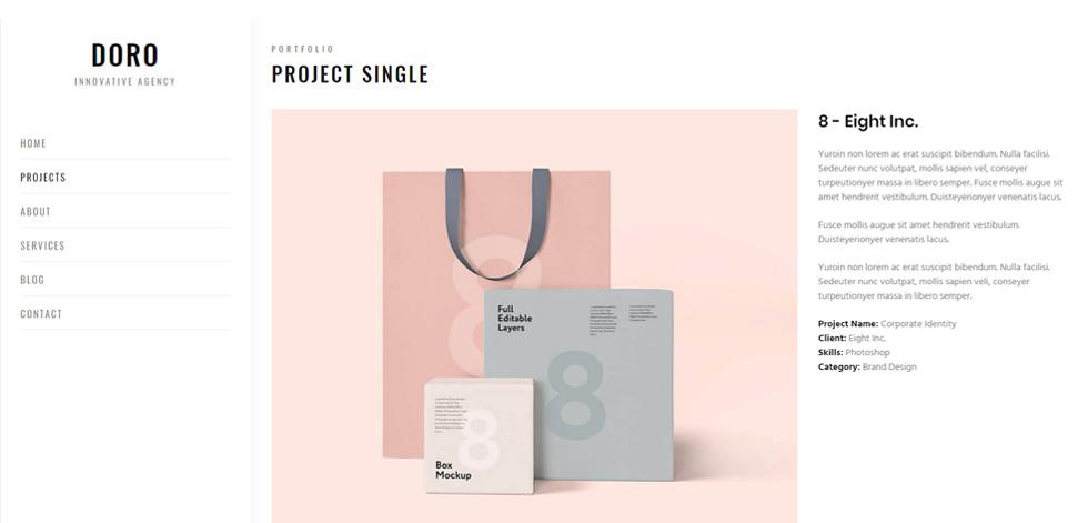 Portfolio single