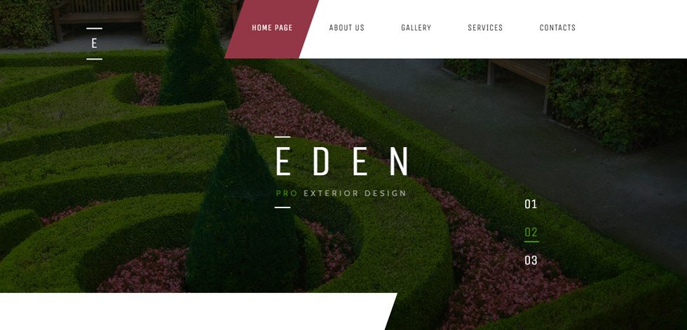 Eden - Premium Responsive Garden Design HTML5 Template Garden Exterior Design Html on color garden design, wall garden design, wood garden design, interior garden design, home garden design, office garden design, deck garden design, exterior home, curb appeal garden design, porch garden design, bathroom garden design, make garden design, industrial garden design, exterior garden window, entrance garden design, yard garden design, exterior cottage garden, furniture garden design, outdoor garden design, kitchen garden design,