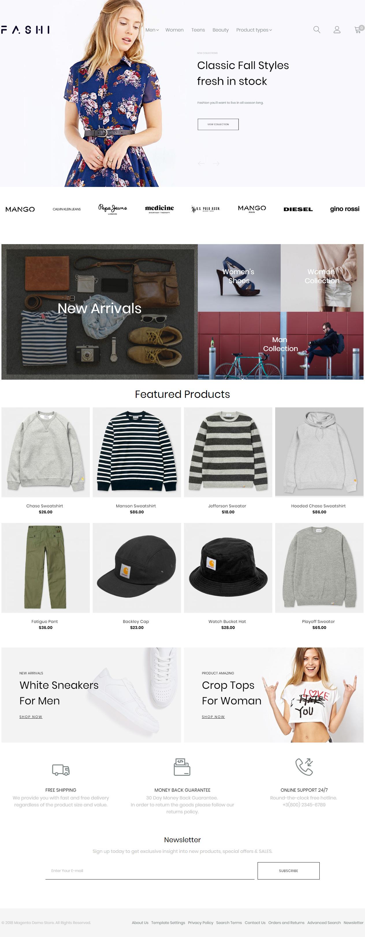 Premium Responsive Fashion Boutique Magento 2 Theme