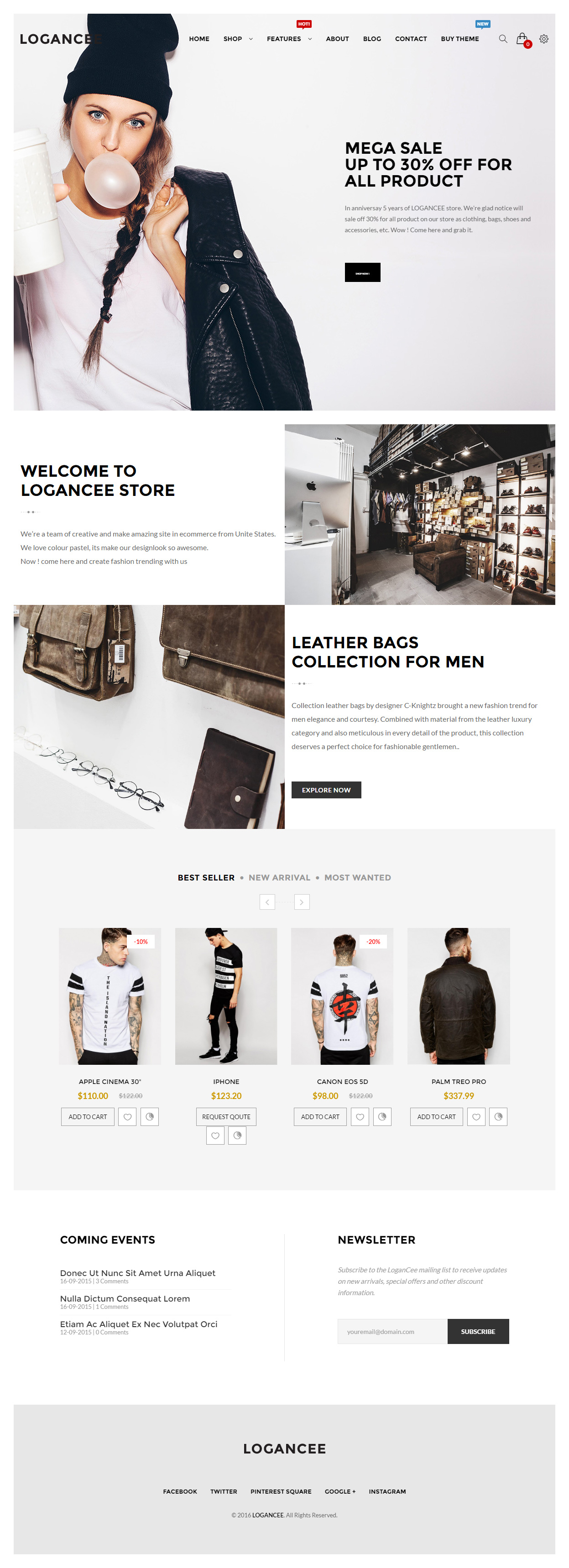 15+ Best Responsive OpenCart Fashion Themes 2019