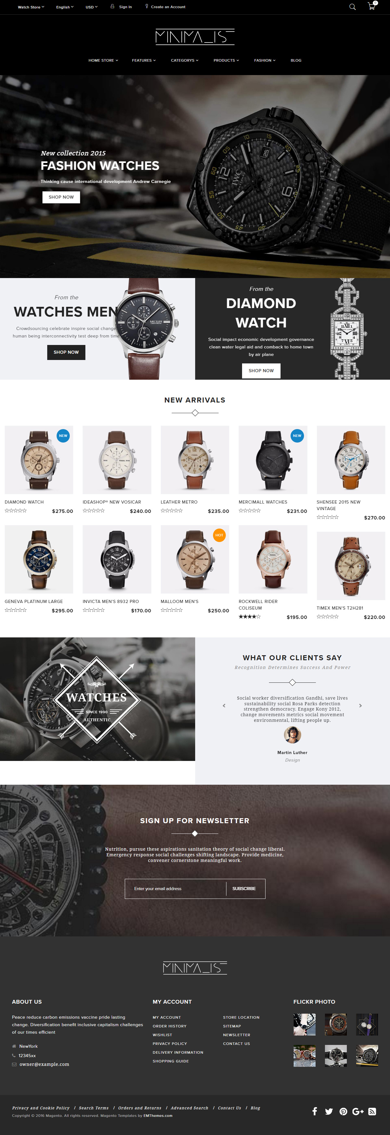 40 Best Magento Themes 2017 Responsive Miracle
