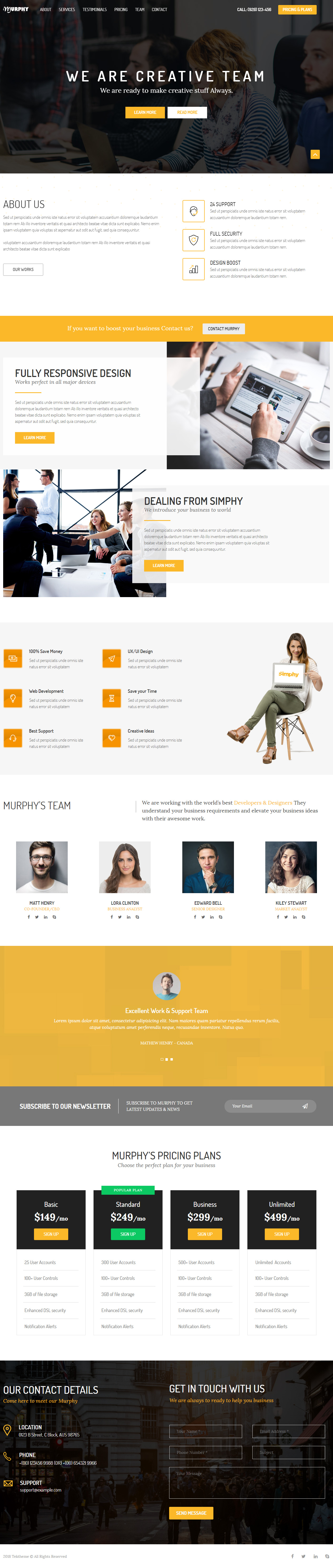 15 Best Adobe Muse Parallax Templates 2018 Responsive Miracle