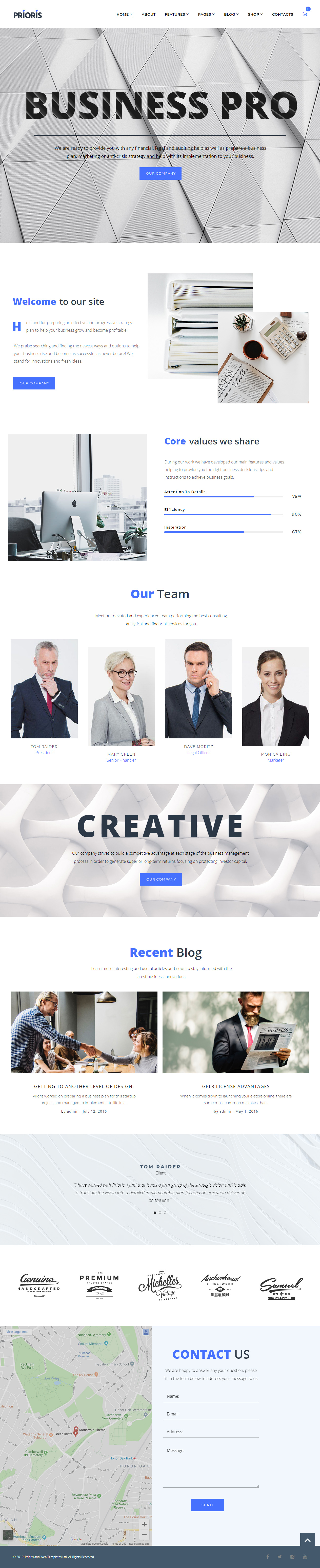 35+ Best Digital Agency Wordpress Themes 2019 - Great for