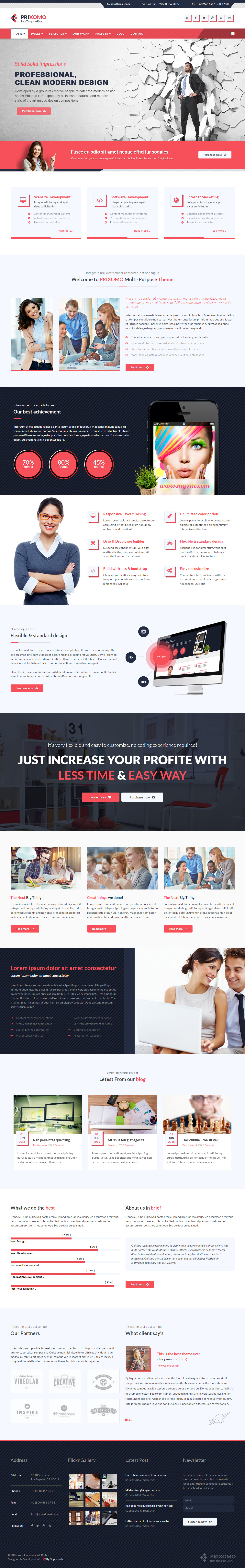 30 best joomla business templates 2017 responsive miracle prixomo joomla business templates friedricerecipe Choice Image