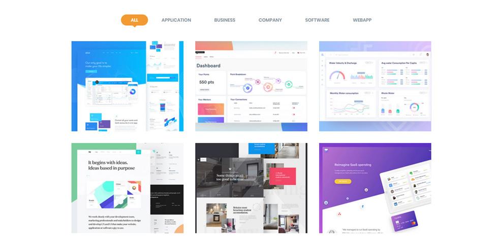 Protech SaaS - Premium Responsive Software WebApp HTML5 Template