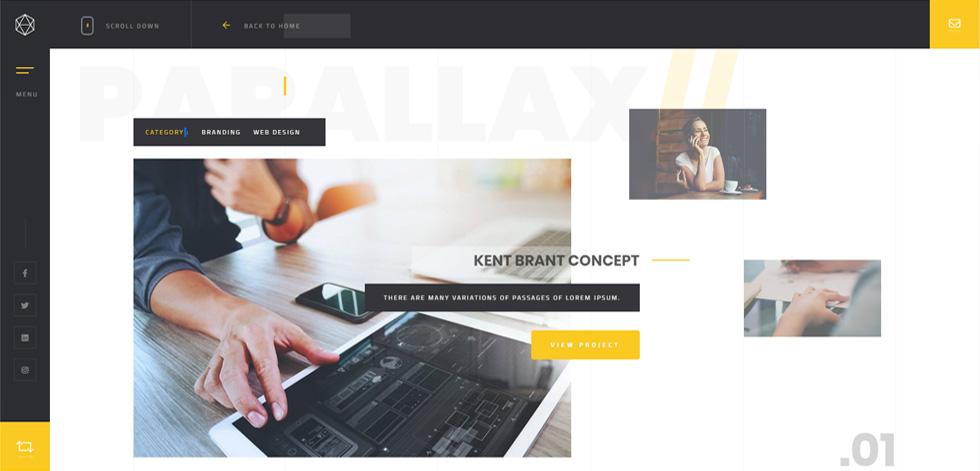 Solonick - Premium Responsive Personal Portfolio WordPress Theme