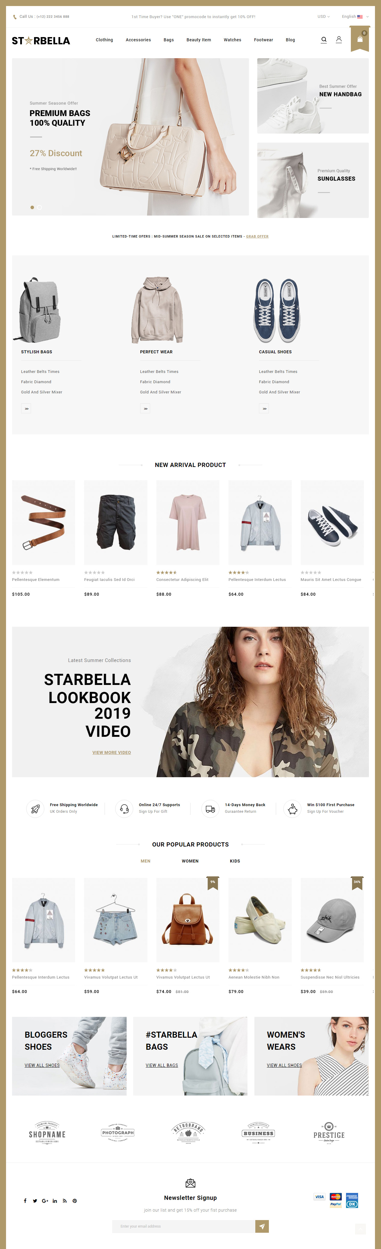 380d89a9f3 25+ Best Responsive Magento Fashion Themes 2019 - Responsive Miracle