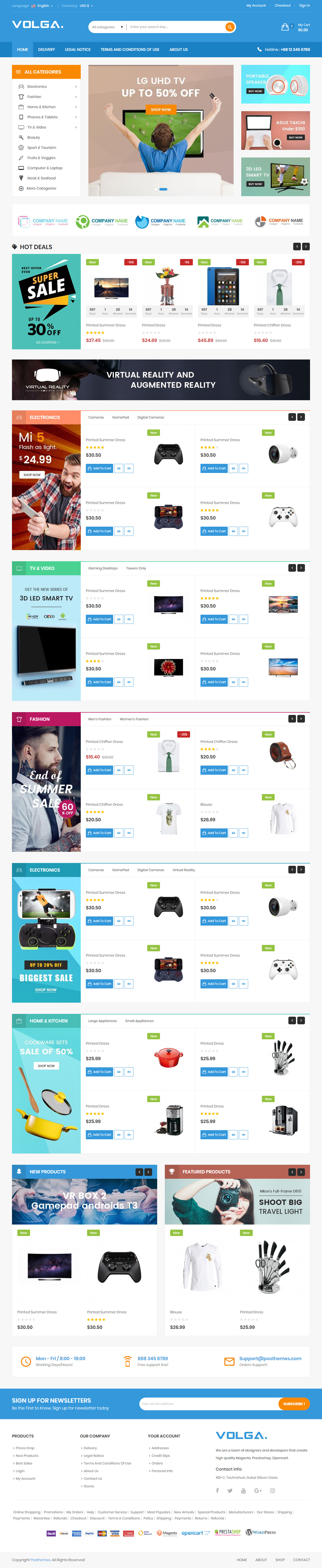 40 Best PrestaShop Themes in 2017 2018 Responsive Miracle