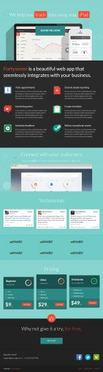 15+ Best Responsive HTML5 Themes with Flat Design in 2013