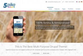5pika – Drupal Premium Responsive Theme