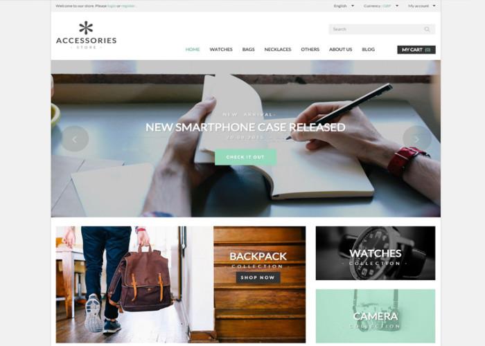 Accessories Store – Premium Responsive Prestashop Theme