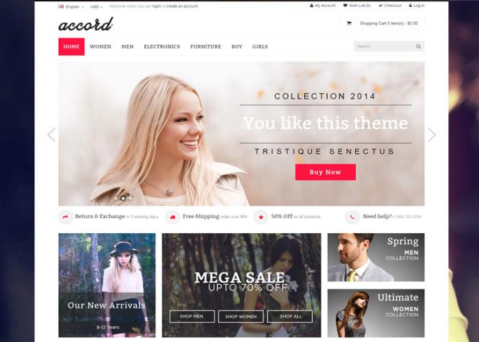 Accord – Premium Responsive Multipurpose OpenCart Theme