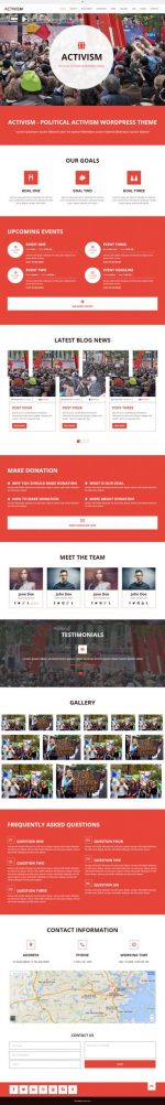 4 Best Responsive Political WordPress Themes 2014
