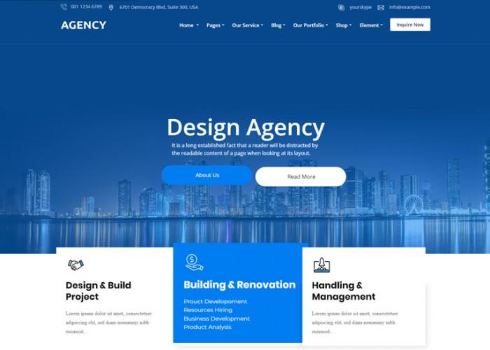 Agency – Premium Responsive Multipurpose Joomla Template