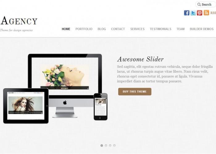 Agency – Premium Responsive WordPress Corporate Theme
