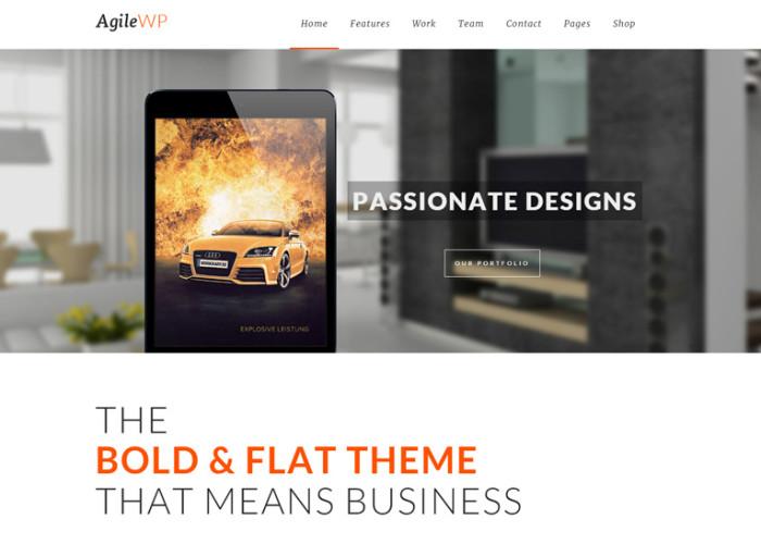 Agile – Premium Responsive MultiPurpose App Showcase WordPress Theme
