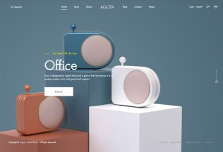 Agota – Premium Responsive Clean Minimal eCommerce HTML5 Template