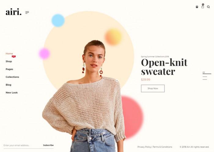 Airi – Premium Responsive Minimal WooCommerce WordPress Theme