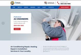 Airtech – Premium Responsive Plumber WordPress Theme