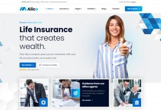 Alico – Premium Responsive Insurance WordPress Theme