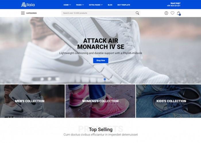 Allaia – Premium Responsive eCommerce HTML5 Template